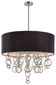 Rensen House Of Lights Hours George Kovacs Eight Light Ringlets Pendant With A Black