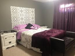 bedroom purple and white. Full Size Of Bedroom Trendy Purple And Gray Ideas 8 Grey White Home Pinterest Dma Homes
