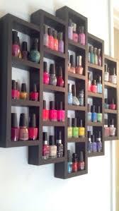 shelves for nail polish diy wood nail polish rack you easy