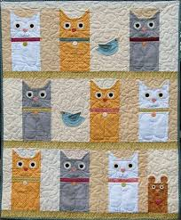 25 best cat quilt pattern ideas for Portland charity images on ... &