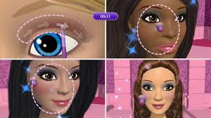 game play faster makeup challenge faster makeup challenge game the make up mini game each player