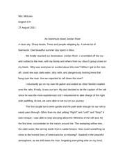 reflective essay swimming strokes in life determination can most popular documents from rochester adams high school