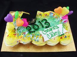 Graduation Cap Cupcake Cake Tiffanys Bakery