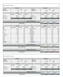 Biweekly Budget Template Semi Monthly Budget Template Bi Weekly Personal Voipersracing Co
