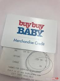 bed bath beyond baby merchandise credit gift card 239 99