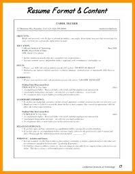 Different Types Of Resume Format Free Download Types Of Resume Formats Different Types Of Resume Format Free