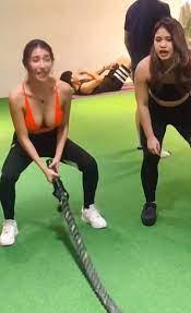 我也想當健身教練...女學員身材太猛「↑↓不科學晃動」影片被瘋傳:快上車~aqqcami (13P) FUN一下-最有趣的新聞,最火辣的正妹聚集地