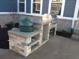 cool green egg outdoor kitchen and best 25 big green egg outdoor kitchen ideas only on