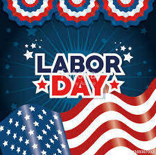 labor day theme flag of labor day in usa theme vector illustration imágenes de