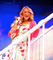 theatre mirror review legally blonde mcgrath pr legally blonde sarah kelly as elle