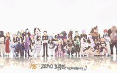 this wallpaper has s of re zero starting life in another world anime characters