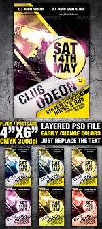 club flyer templates club flyer template by sevenstyles graphicriver