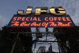 200 west jackson avenue postal. Iconic Jfg Coffee Sign To Return For Boomsday
