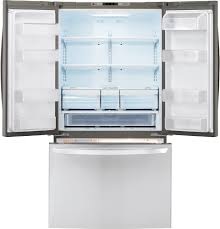 lg french door refrigerator inside. refrigerator in stainless steel lg lfc21776st - interior view lg french door inside c
