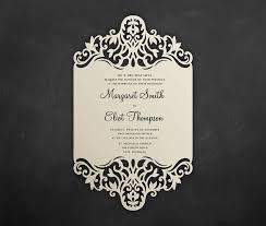 5x7 border template laser cut wedding invitation card template 5x7 floral border