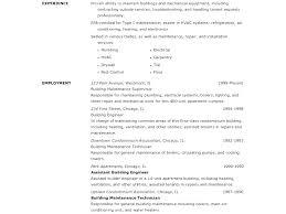 Maintenance Supervisor Resume Template Luxury Resume Samples For ...