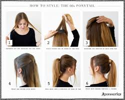 Quick Cute Ponytail Hairstyles Collections Of Simple Ponytail Hairstyles For Medium Hair