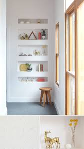 Recessed Shelves Bathroom 17 Best Ideas About Recessed Shelves On Pinterest Wall Storage