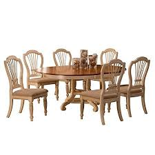 american furniture warehouse dining room chairs amazon wilshire 7 piece round dining set with side chairs