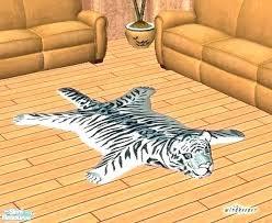 real tiger rug fake genuine tiger skin rug with full head