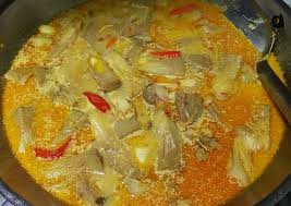 250 gram tulang iga/daging tetelan; Resep Mudah Sayur Tewel Gori Tanpa Tanding Ashoy Media