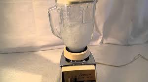 vintage 1960 s osterizer chrome pulse matic blender w glass pitcher