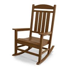 recycled plastic outdoor rocking chair polywood presidential rocker usa made