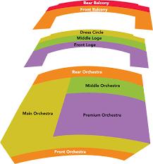 Classical Charts Seating Charts Classical Atlanta Symphony Orchestra