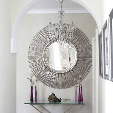 sun mirror wall decor design
