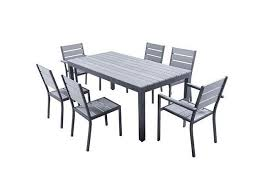 Rent Set MAGDA - Garden table 180 cm + 4 chairs + 2 armchairs ...