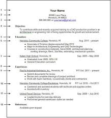 Example Of A College Resume College Admission Resume Template