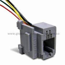 taiwan cat 5 wiring harness from pan chiao district manufacturer cat 5 modular jack plug to wiring harness stripped wire for telephone cable