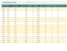 ms excel inventory template inventories office com