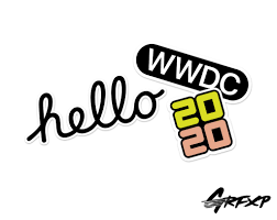 WWDC 2020 Printed Macbook Sticker Pack – Grafixpressions