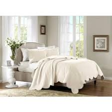 White Quilts & Bedspreads For Less | Overstock.com & Madison Park Marino Quilted 3-piece Coverlet Set Adamdwight.com