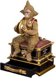 Music boxes of phantom of the opera. Sfmb Phantom Of The Opera Phantom Of The Opera Monkey With Hand Crank Amazon Co Uk Kitchen Home