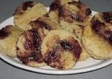 blackberry scones  ww