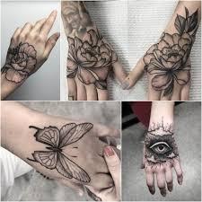 татуировки для девушек на руке цветы кинозавр