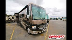 2018 newmar canyon star 3921 toy hauler cl a motorhome video tour guaranty