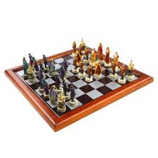 knights of the round table chess set