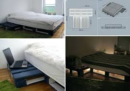Wood Platform Bed California King Wooden Bed Frames King Beautiful ...