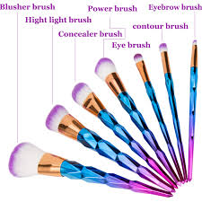 unicorn brush set. aliexpress.com : buy elailite unicorn brush makeup brushes set 7/10/12pcs rhinestone tools powder foundation eye lip concealer face colorful ki from