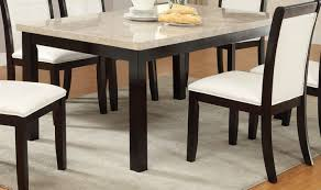 Marble Kitchen Table For Poundex F2296 Brown Marble Dining Table Steal A Sofa Furniture