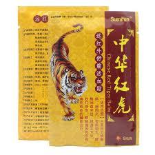 čínský červený Tygr Balzám Krk Rameno Pas A Nohy Artritida Bolest Bolestí Záplaty Záplat At Vova
