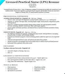 Free Lpn Resume Templates Hotwiresite Com