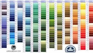 Faithful Free Printable Dmc Color Chart 2019