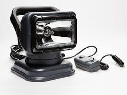 golight radioray halogen golightgolight golight® halogen model 5149 charcoal handheld wired remote