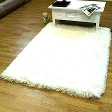 white fluffy mat big white fluffy rug round area rugs plush with grey fur