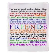 Living In The Past Quotes Fascinating Friends TV Show Quotes Gifts Chandler Living Room Friends