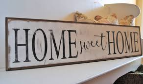 home sweet home 1 x4 sign distressed shabby chic wooden sign painted wall art